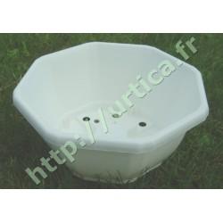 Coupe décorative 27,5 cm blanche
