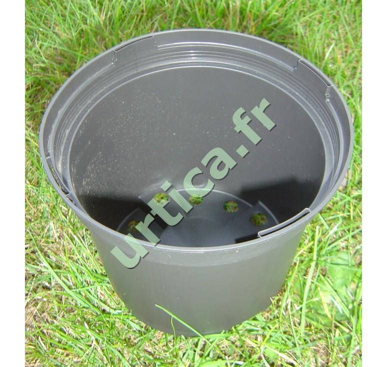 Conteneur plastique injecté 2L – Noir mat