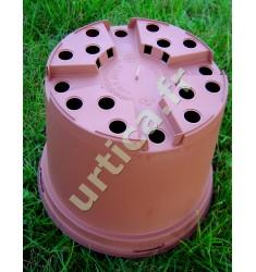 """Conteneur 4 litres en plastique injecté couleur """"Terre cuite"""""""