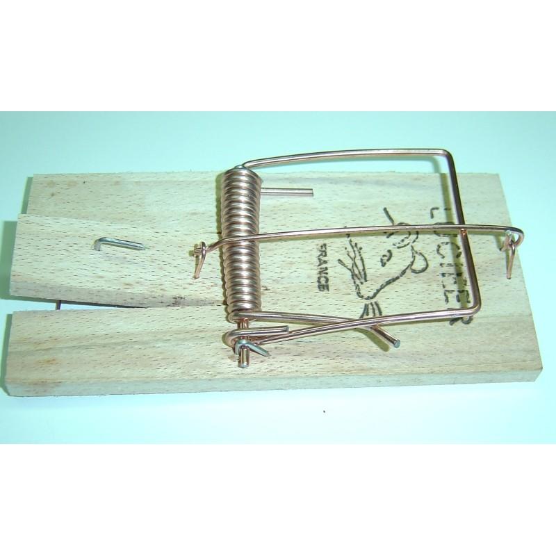 Pi ge tapette rat en bois lucifer boutique jardinage - Tapette a rat ...