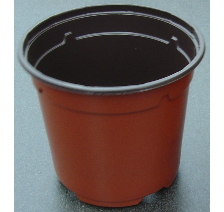 30 pots de semis ronds bicolores thermoformés 10,5 * 9,1cm HAUT