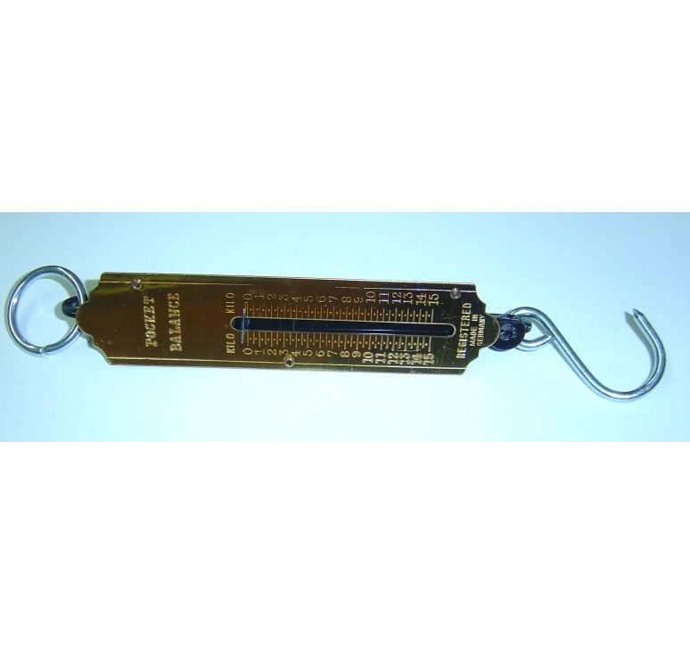 Peson - romaine de poche 15 kg