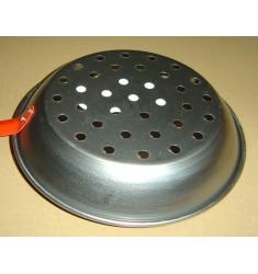 Poêle à châtaignes / marrons acier 26 cm