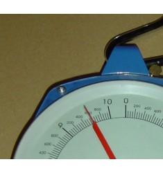 Peson dynamométrique à cadran 10kg max, gradué à 50g