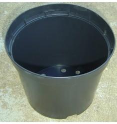 Pot conteneur 7,5L en plastique injecté noir
