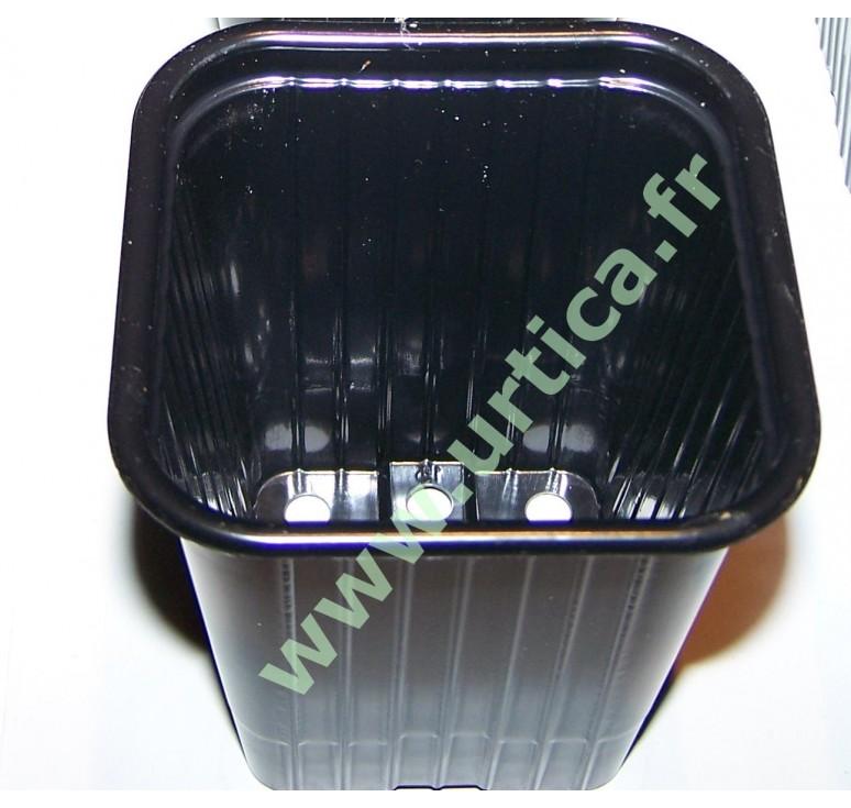 30 pots de semis plastique thermoformés carrés 7cm