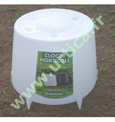 Cloche horticole à lever 24 x 15 pour salades, petits pois, haricots