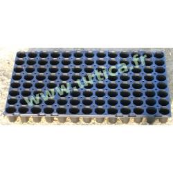 5 plaques de semis horticoles 54x31cm (104 alvéoles)