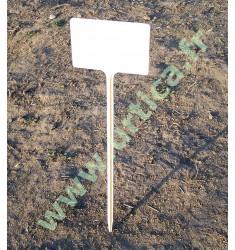 étiquette de semis rigide 34 cm  (repérage des rangs de plantation)