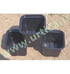 30 pots de semis 7x7x6.2cm plastique thermoformés carrés