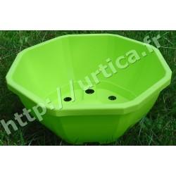 Coupe décorative 23cm verte