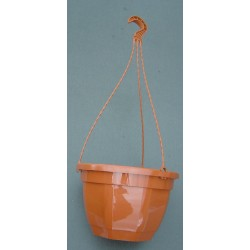 Pot et tringle TERRE CUITE 4,7L pour suspension florale