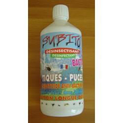 Subito BACTO-S 1 litre insecticide désinfectant à diluer dans 50 litres